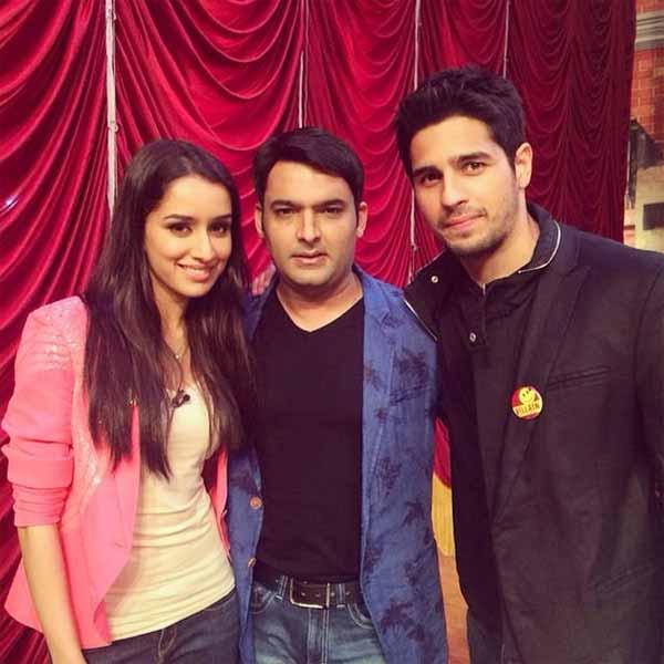 Comedy Nights with Kapil sneak peek: Sidharth Malhotra gets jealous of Shraddha Kapoor and Kapil Sharma's closeness-watch video!