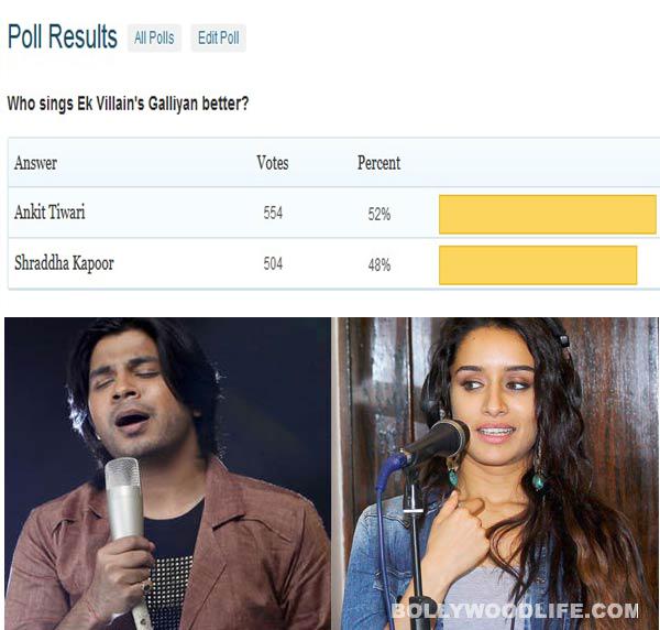 Ankit Tiwari sings Ek Villain's Galliyan better than Shraddha Kapoor, say fans!