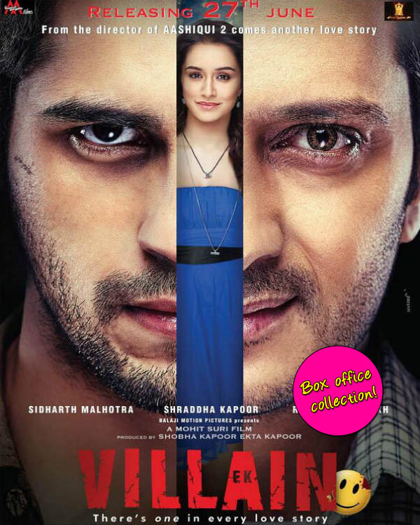 Ek Villain box office collection: Sidharth Malhotra and Riteish Deshmukh's thriller mints Rs 50 crore in three days!