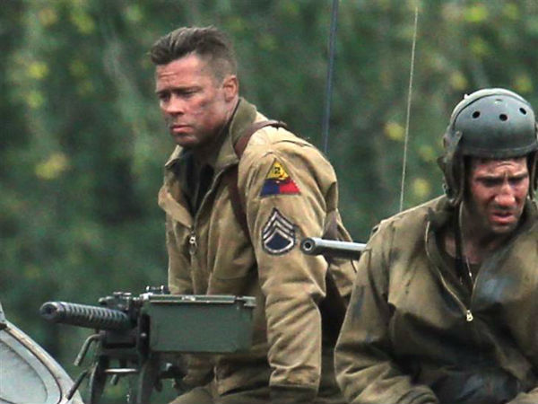 Will Brad Pitt's Fury be another Inglourious Basterds?- Watch trailer!