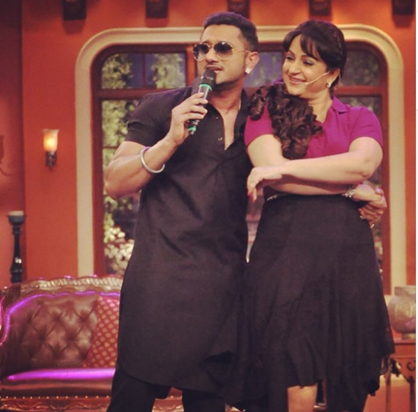 Comedy Nights with Kapil: Is Yo Yo Honey Singh the man of Bua's dreams?