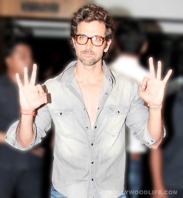 Hrithik Roshan follows Amitabh Bachchan's footsteps