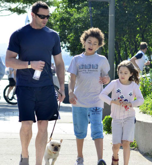 Hugh Jackman: Every day is Father's Day!
