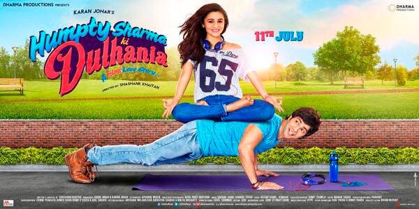 Humpty Sharma Ki Dulhania new poster: Alia Bhatt and Varun Dhawan turn fitness freaks!