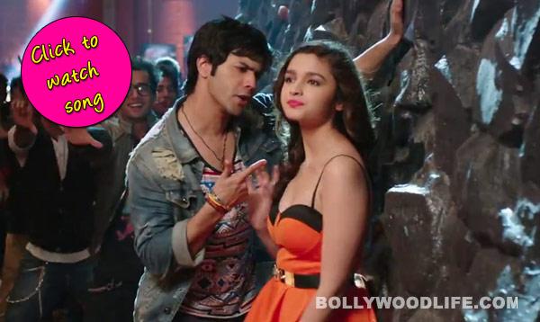 Humpty Sharma Ki Dulhania song Lucky tu lucky me: Varun Dhawan raps to woo Alia Bhatt!