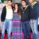 Sidharth Malhotra, Shraddha Kapoor and Riteish Deshmukh attend a musical event of Ek Villain!