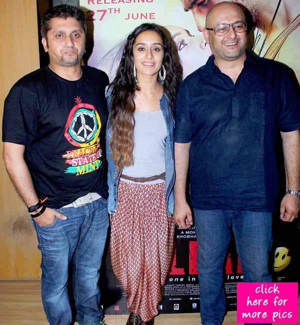 Shraddha Kapoor lends her voice to Ek Villain's background score