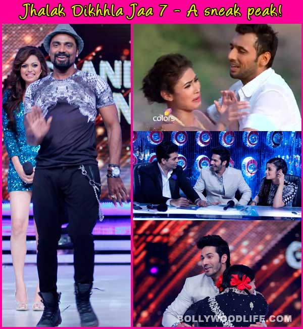 Jhalak Dikhhla Jaa 7: Mouni Roy and Palak cry, Varun discusses Alia's flexibility, Remo is impressed