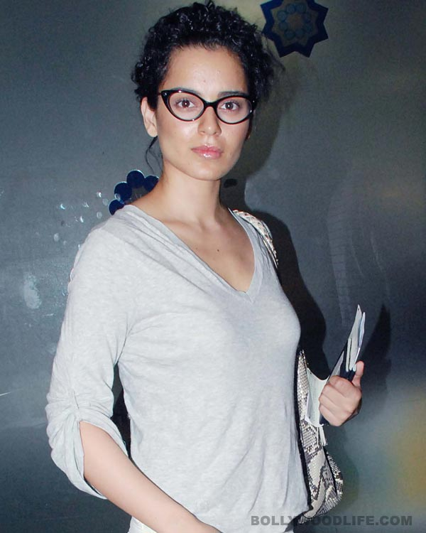 Kangana Ranaut walked out of Durga Rani Singh for a scriptwriting course?