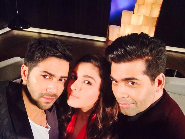 Karan Johar to host a special talk show with Humpty Sharma Ki Dulhania stars Alia Bhatt and Varun Dhawan!