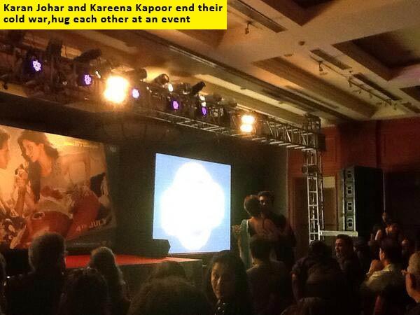 All's well between Kareena Kapoor and Karan Johar!