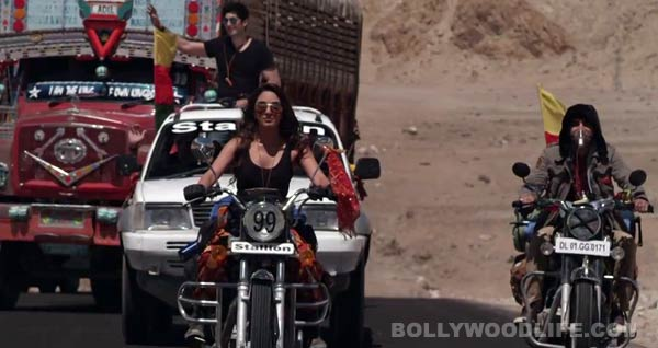 Kiara Advani almost met with an accident while riding a bike for Fugly
