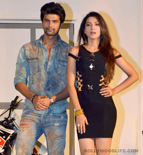 When Kushal Tandon protected Gauahar Khan in France...