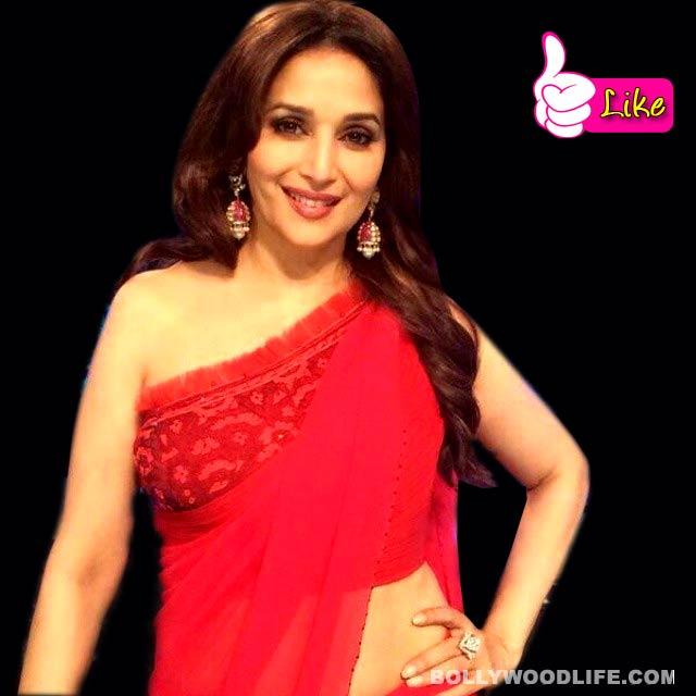 Jhalak Dikhhla Jaa 7: Madhuri sizzles in a red saree!