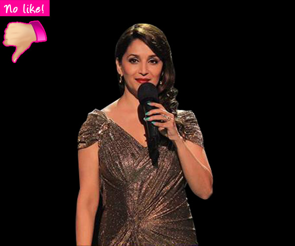 Madhuri Dixit fails to impress on Jhalak Dikhhla Jaa 7's first episode