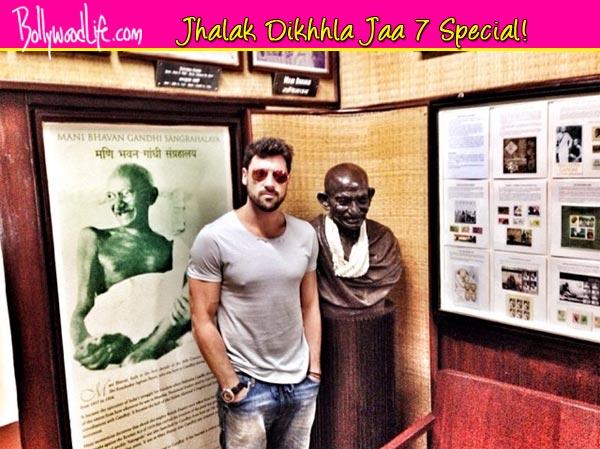 Jhalak Dikhhla Jaa 7: Maksim Chmerkovskiy visits Mahatma Gandhi's residence in Mumbai