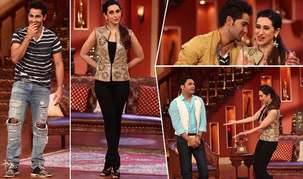 Karisma Kapoor and Armaan Jain in Comedy Nights With Kapil-Watch Video!