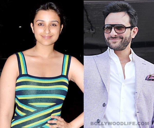 Parineeti Chopra excited about working with 'crush' Saif Ali Khan!