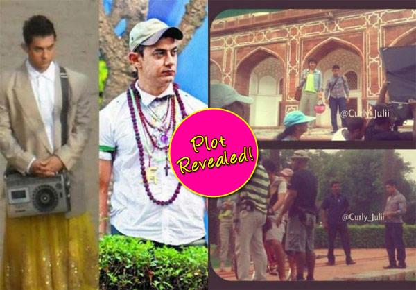 Aamir Khan's P.K. story revealed!