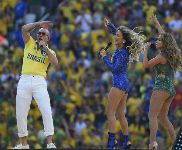 FIFA 2014 opening ceremony: Jennifer Lopez and Pitbull rock the show - Watch video!