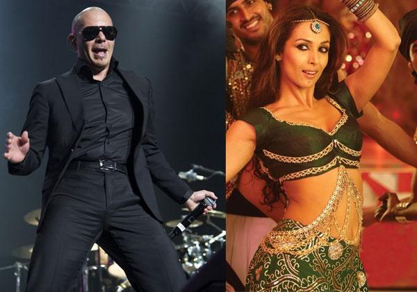 Is Pitbull smitten by Malaika Arora Khan's Munni Badnam?