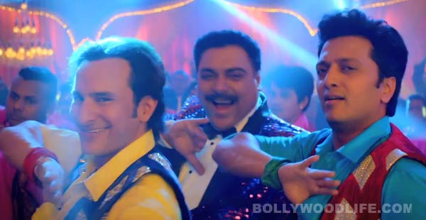 Humshakals song Piya ke bazaar mein making: Saif Ali Khan, Riteish Deshmukh and Ram Kapoor have a blast!