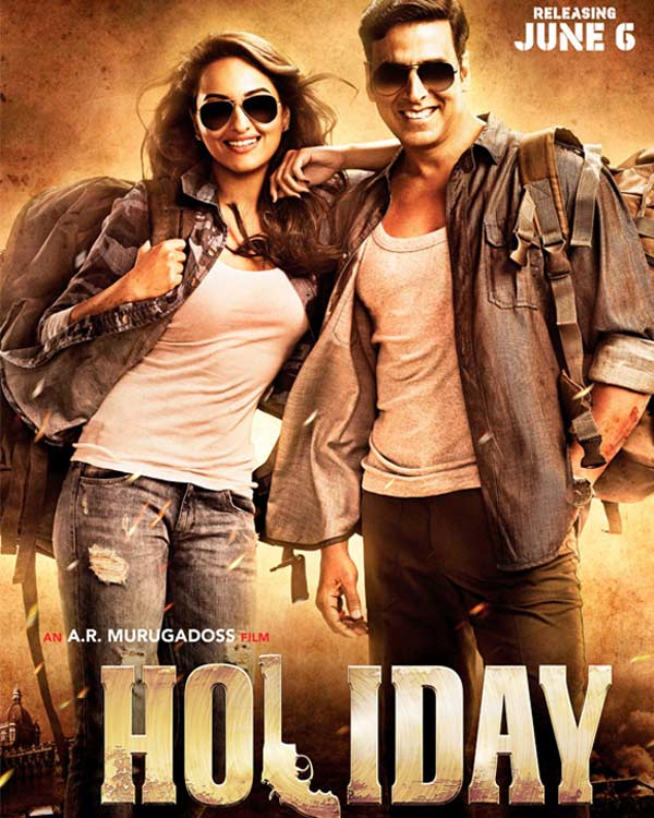 Akshay Kumar and Sonakshi Sinha's Holiday crosses Rs 100 crore mark worldwide!