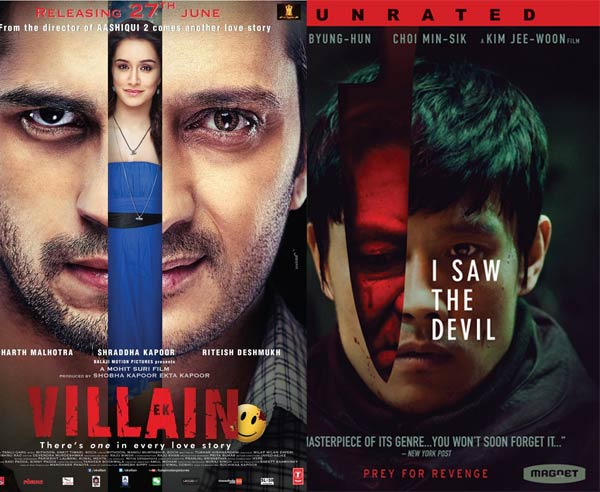 5 similarities between Mohit Suri's Ek Villain and Korean film I Saw The Devil