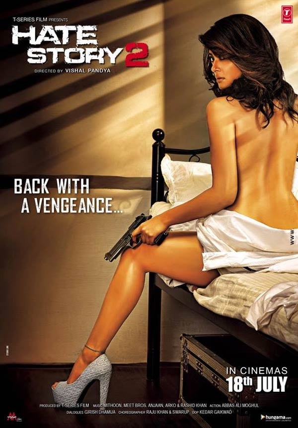 Hate Story 2 poster making: Surveen Chawla looks menacingly sexy!