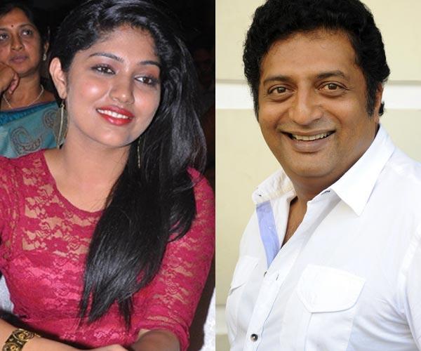 Samyukta finds herself lucky to have worked with Prakash Raj
