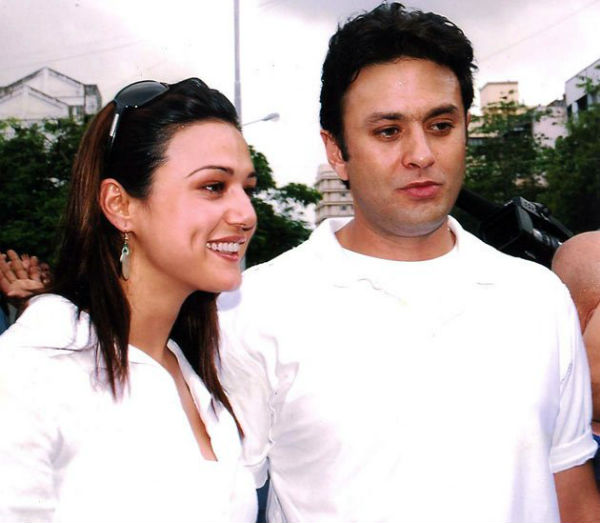 Did Preity Zinta and Ness Wadia fight over just the front row seats of an IPL match?