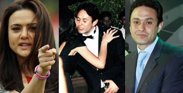 Is Preity Zinta angry due to Ness Wadia's new girlfriend?