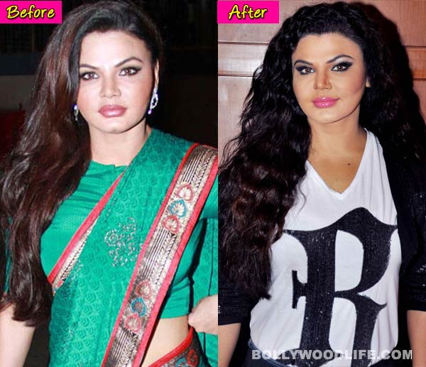 Rakhi Sawant's scary makeover - View pics!