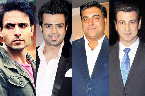 Ram Kapoor, Iqbal Khan, Manish Paul and Ronit Roy – tellyland's hottest dads!