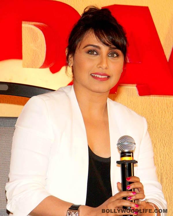 Rani Mukerji denies taking charge of the YRF production house