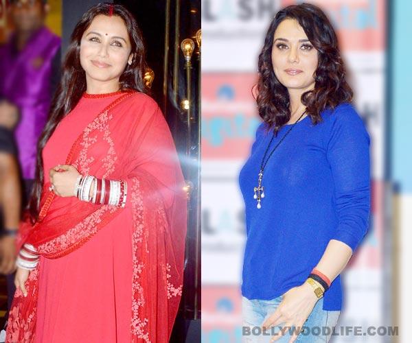 After Vidya Balan, Rani Mukerji supports Preity Zinta