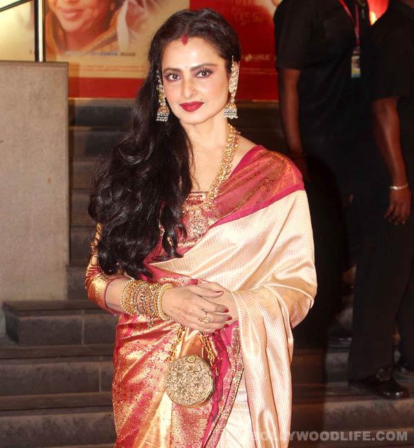How did Rekha surprise Abhishek Kapoor?