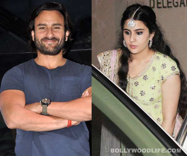 Saif Ali Khan's daughter Sara Ali Khan wants to be in the movies?