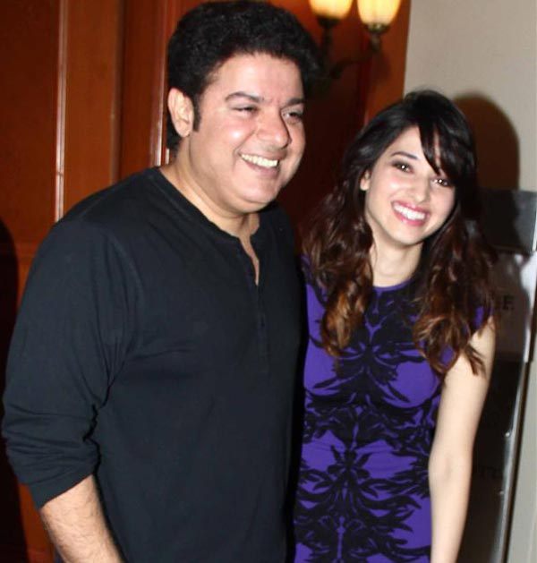 After Sajid, Tamannaah declares her brother-sister connection with the director