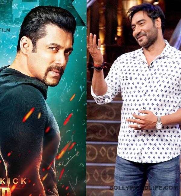 Ajay Devgn impressed with Salman Khan's Kick promo
