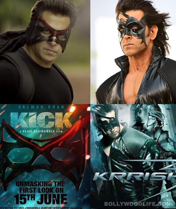Salman Khan or Hrithik Roshan - whose mask is better? Vote!