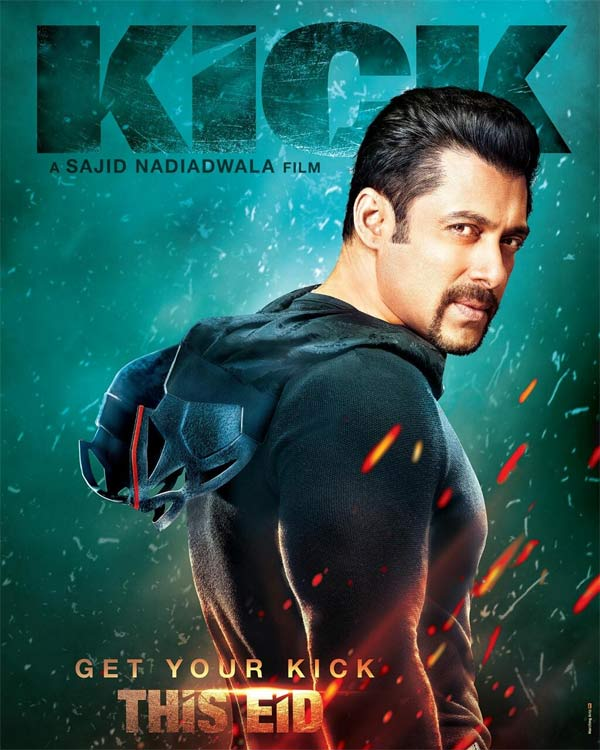 Kick exclusive poster: Salman Khan's new look revealed - view pic!