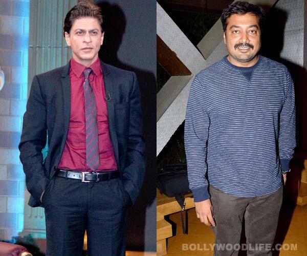 Why did Shah Rukh Khan meet Anurag Kashyap?