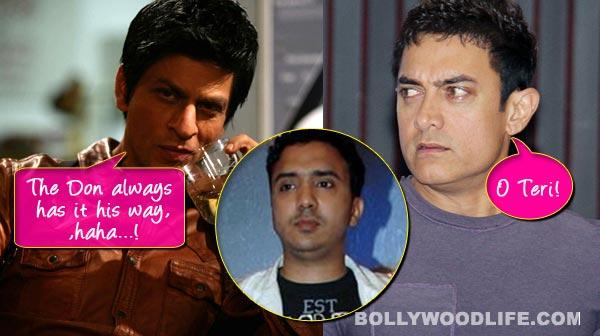 Shah Rukh Khan signs Aamir Khan's favorite music composer