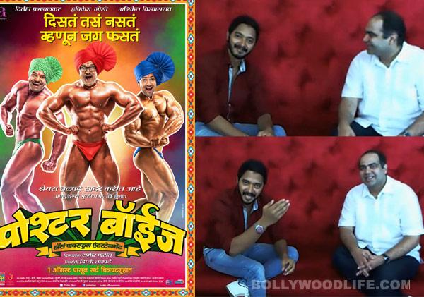 Shreyas Talpade uses Google Hangout to promote his Marathi movie Poshter Boyz: Watch video!