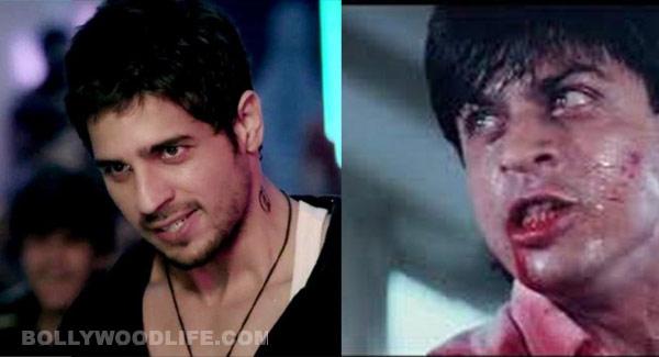 Shah Rukh Khan inspired Sidharth Malhotra for Ek Villain?