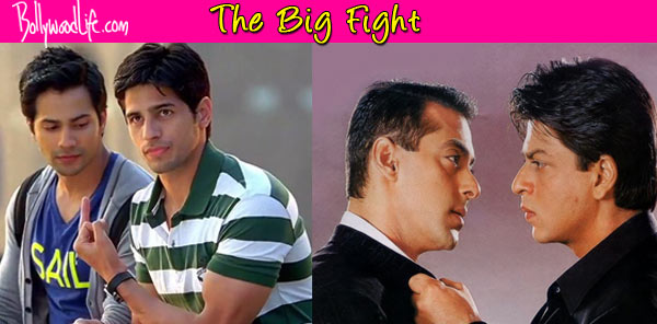 Varun Dhawan-Sidharth Malhotra, the new Salman Khan-Shah Rukh Khan of Bollywood?