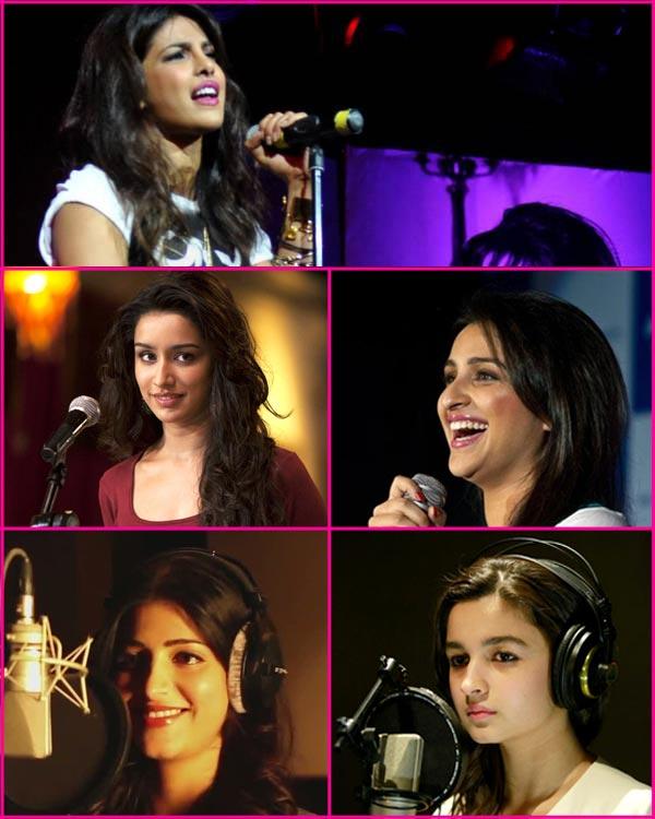 Alia Bhatt, Shraddha Kapoor or Priyanka Chopra: Vote for the sexiest singer of B-town!