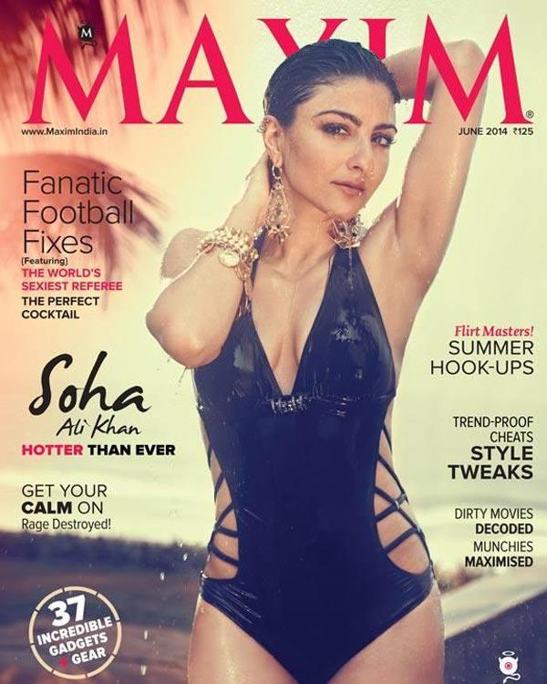 Soha Ali Khan, the new bikini babe in town - view pics!