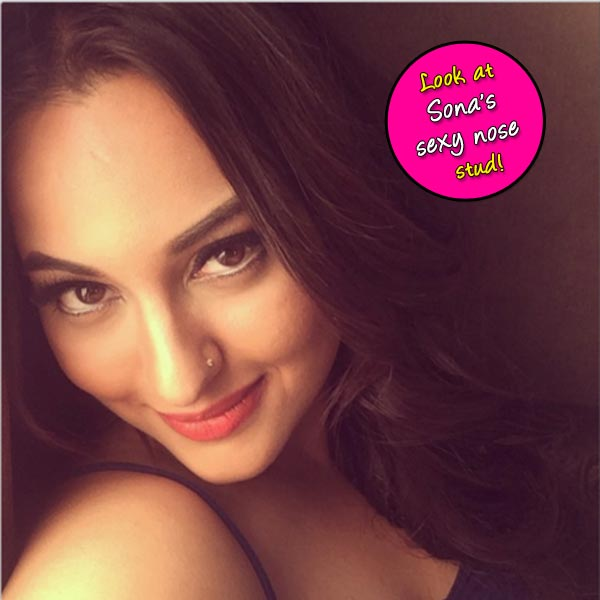 Sonakshi Sinha flaunts her new nose stud- View pic!